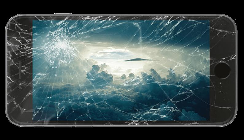 iPhone修理 ガラス+液晶交換修理