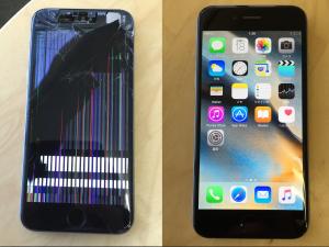 iphone 修理 画面交換
