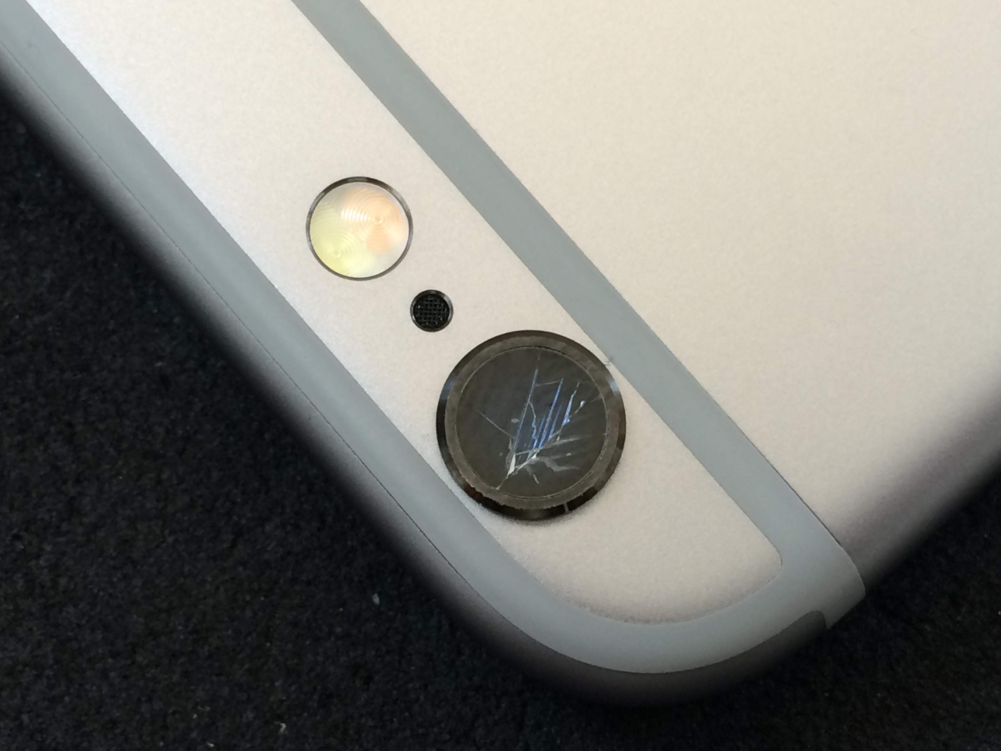iphone カメラ修理